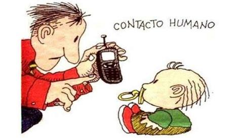 Quino - Conceptos: Contacto humano