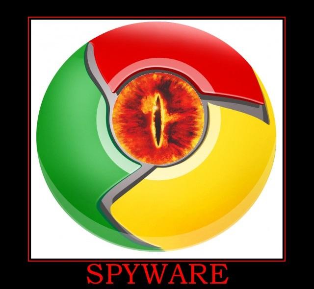Google Chrome - Spyware